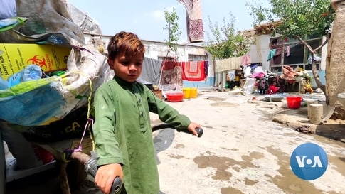 Future Is Uncertain for Afghan Women, Children
