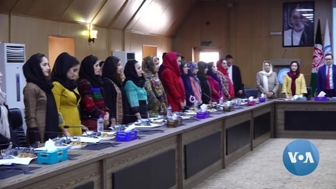 'We Need a Voice at Peace Talks,' Afghanistan's Female Journalists Say