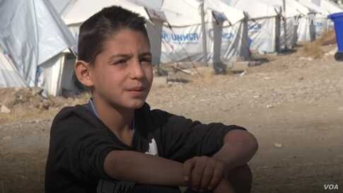 A Day in the Life of a Kurdish Refugee Boy