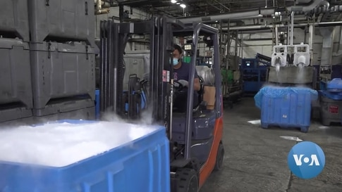 'We're Ready': Baltimore Dry Ice Supplier Prepares for COVID-19 Vaccine