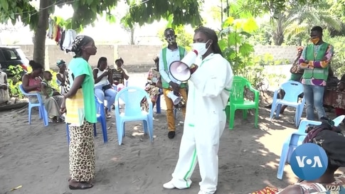 In DRC, Young Woman Helps Orphans Guard Against COVID-19