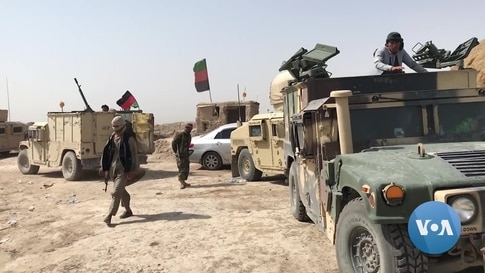 Afghan Locals Seek to Join Military to Defend Against Taliban