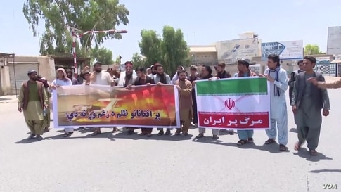 Afghans Protest Their Treatment in Iran