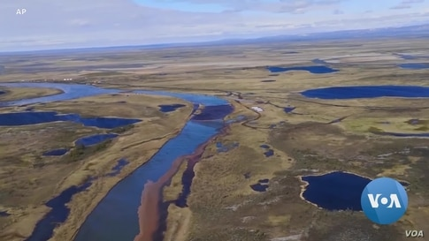 In Massive Oil Spill in Russia's Arctic, Climate Change in Real Time