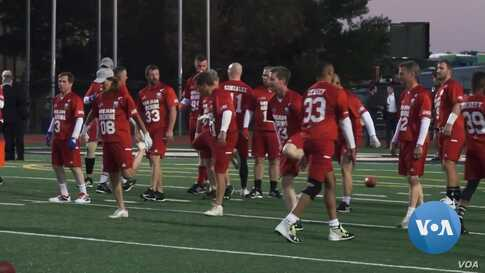 Lawmakers Put Differences Aside for Charity Congressional Football Game