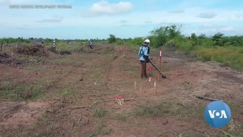 Cambodia Expects to be Landmine-Free by 2025