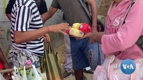 Venezuelans Barter for Food