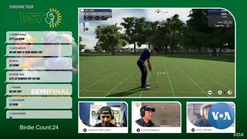 Africa's Only Virtual Pro Golf Tour Livens Up Lockdown for Fans