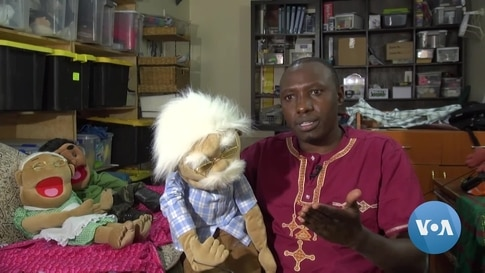Kenyan Puppeteer 'Pulling Strings' to Educate on COVID-19