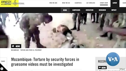 Release of Military Torture Videos Prompts Denials by Mozambican Authorities