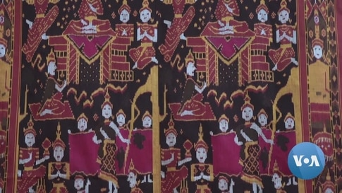 Traditional Cambodian Silk Ikat at Risk of Extinction