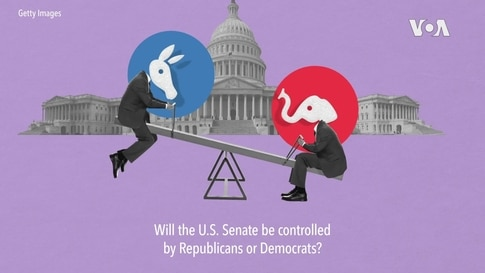 Which Party Will Control US Senate?