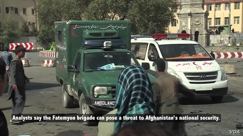 Afghans Refute Iran's Claim Fatemyon Fight in Syria Is for 'More Secure' Afghanistan