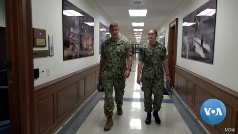 Navy Fathers, Daughters Share Special Military Bond