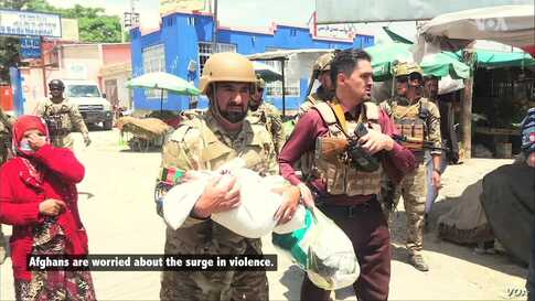UN, Afghans Concerned Over Increase in Violence in Afghanistan