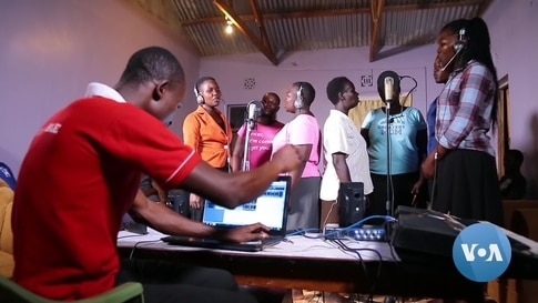 Traveling Kenyan Music Producer Gives Hope to Rural Artists