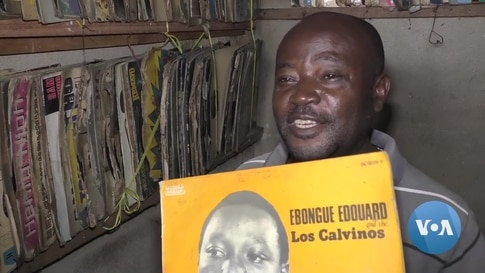 Cameroon Record Seller Keeps Vinyl Alive With Unique Collection