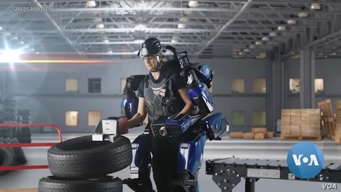 A Stronger Skeleton: Wearable Robot Gives Users Super Strength
