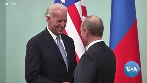 Biden Prepares to Address Differences with Russia's Putin