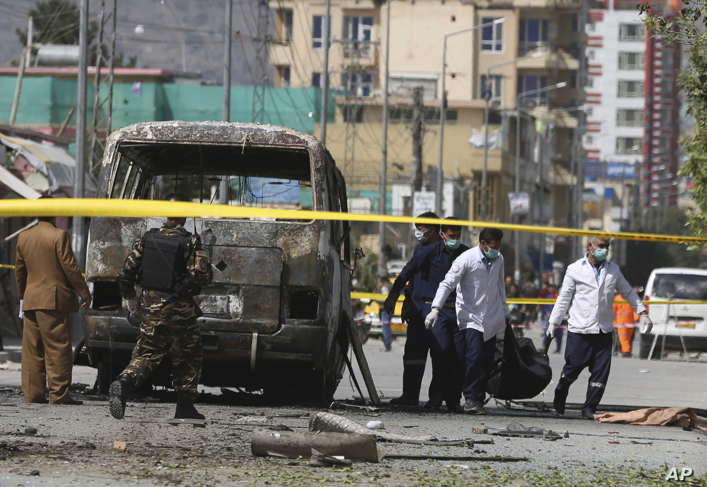 Deadly Bus Blast Rattles Afghan Capital on Eve of Eid | Voice of America -  English