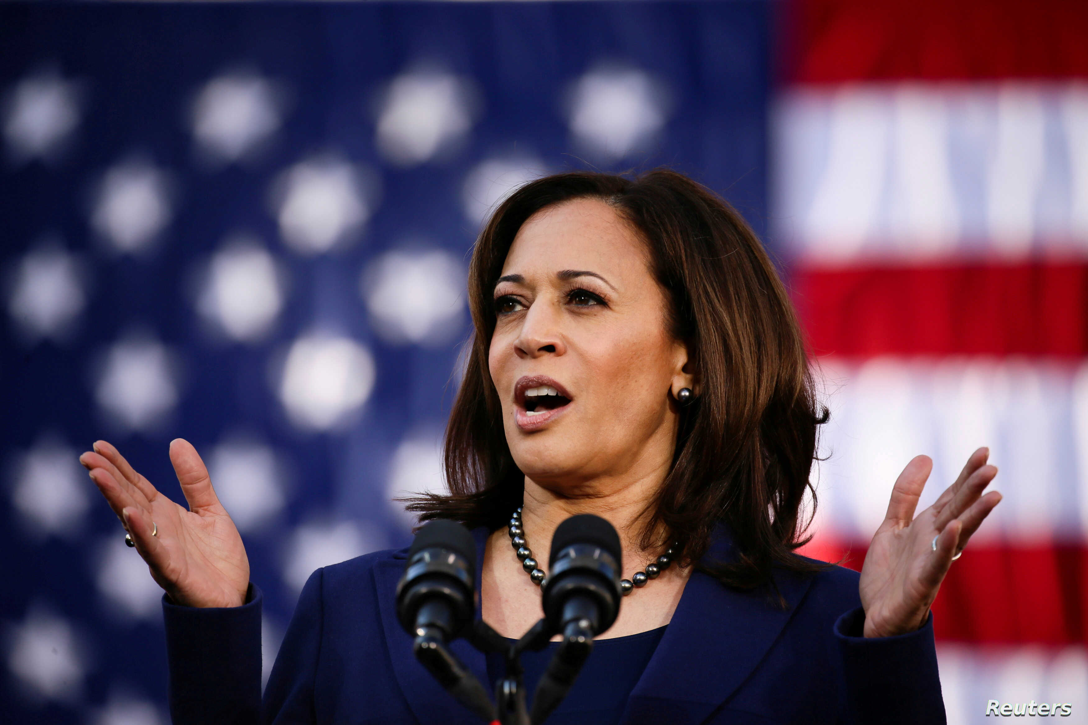 Harris Under Scrutiny For Tough On Crime Prosecutor Past Voice Of America English