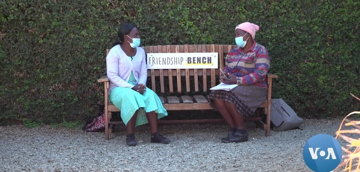 Stressed by COVID-19, Zimbabweans Turn to Friendship Bench for Solace