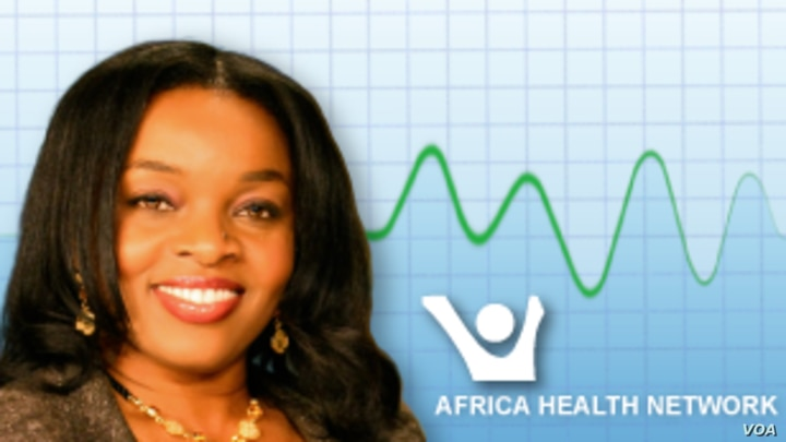Program page graphic for Health Chat with African Health News logo