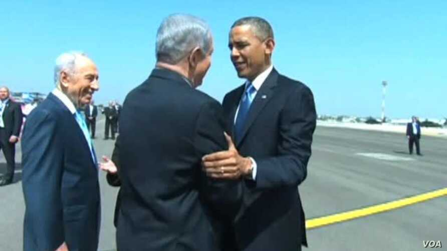 Obama, Israeli Leaders Reaffirm Security Ties