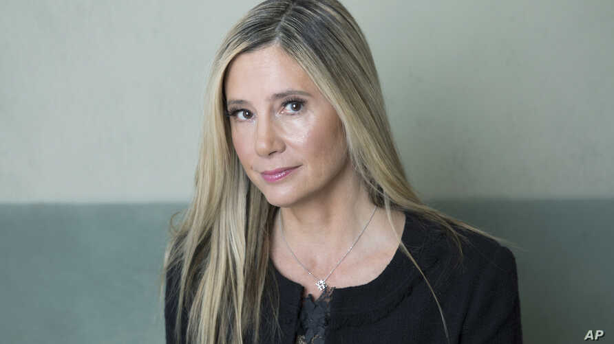 Actress Mira Sorvino poses for a portrait in New York, Nov. 5, 2018.
