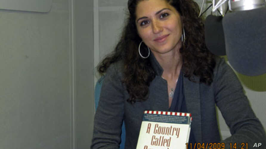"""Author Alia Malek says she wrote """"A Country Called Amreeka"""" to put a """"human face"""" on the Arab-American community, and to counter the public fear and misunderstanding fueled by the 9/11 terrorist attacks"""