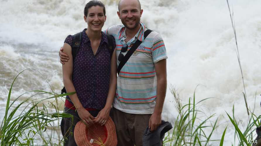 Many honeymooners head for a sandy beach in the Caribbean, but not Matthew and Emily Albert. They visited South Sudan and took in pristine places like the falls in Nimule National Park.