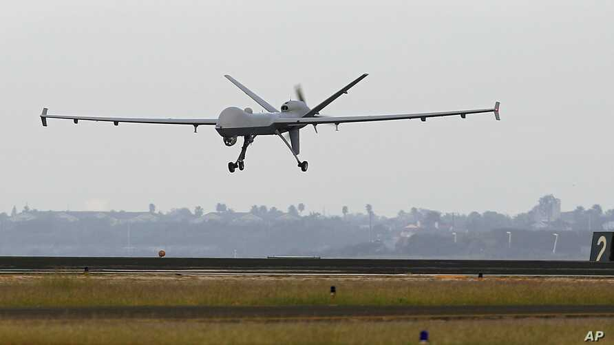 File photograph of a Predator B unmanned aircraft similar to U.S. drones used in Yemen (AP)