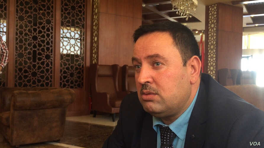 Sheikh Imad Khalil, a member of one of Iraq's largest Arab tribes, the al Jabouri, says Sunnis are trapped between two brutal forces, Islamic State and Iranian-backed Shi'ite militias.