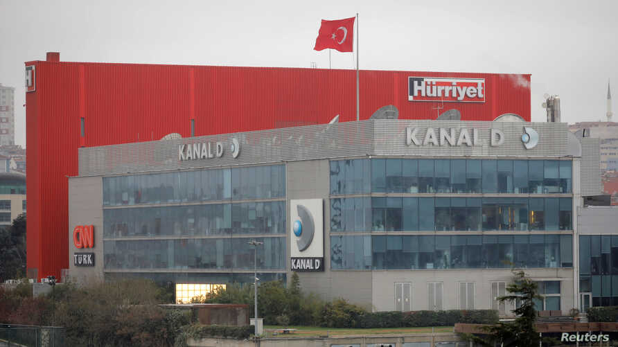 Dogan Media Center is pictured in Istanbul, Turkey, March 22, 2018. The company was reportedly sold to Demiroren Holding, whose owner, Erdogan Demiroren, has close ties to President Recep Tayyip Erdogan.