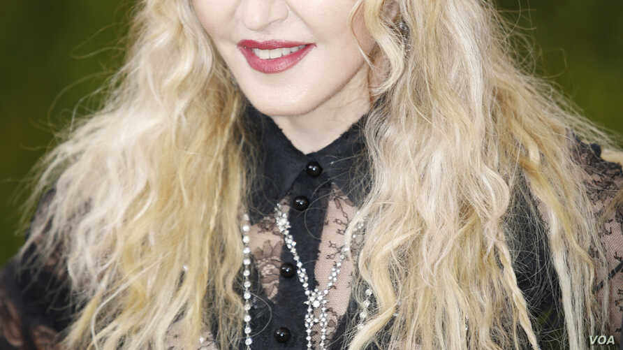 "Singer-songwriter Madonna arrives at the Metropolitan Museum of Art Costume Institute Gala (Met Gala) to celebrate the opening of ""Manus x Machina: Fashion in an Age of Technology"" in the Manhattan borough of New York, May 2, 2016."