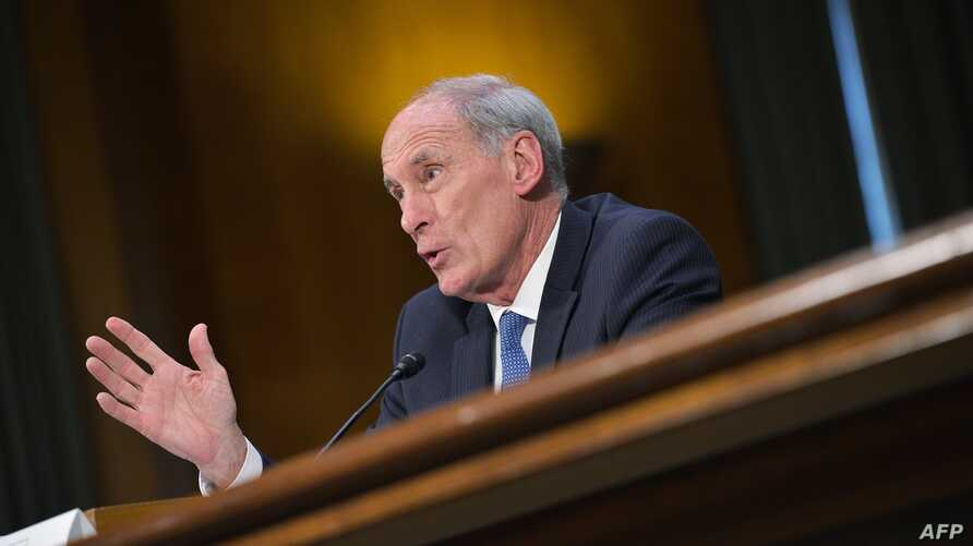 Dan Coats testifies before the Senate (Select) Intelligence Committee on his nomination to be the next director of national intelligence in the Dirksen Senate Office Building, Feb. 28, 2017, on Capitol Hill in Washington, D.C.