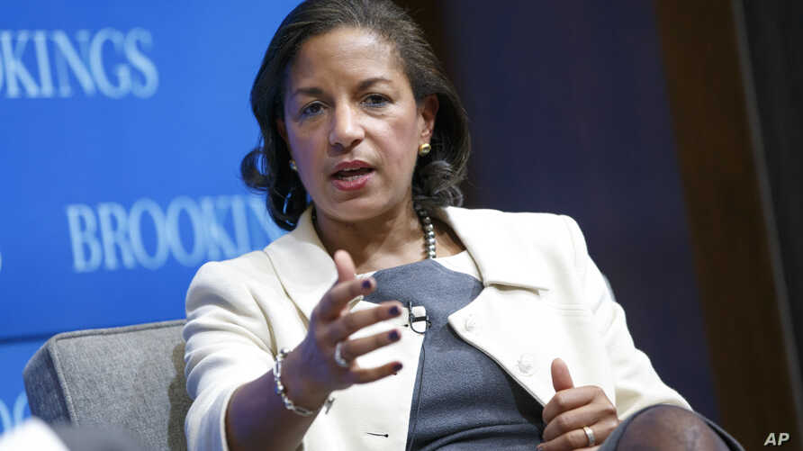 FILE - National Security Adviser Susan Rice.