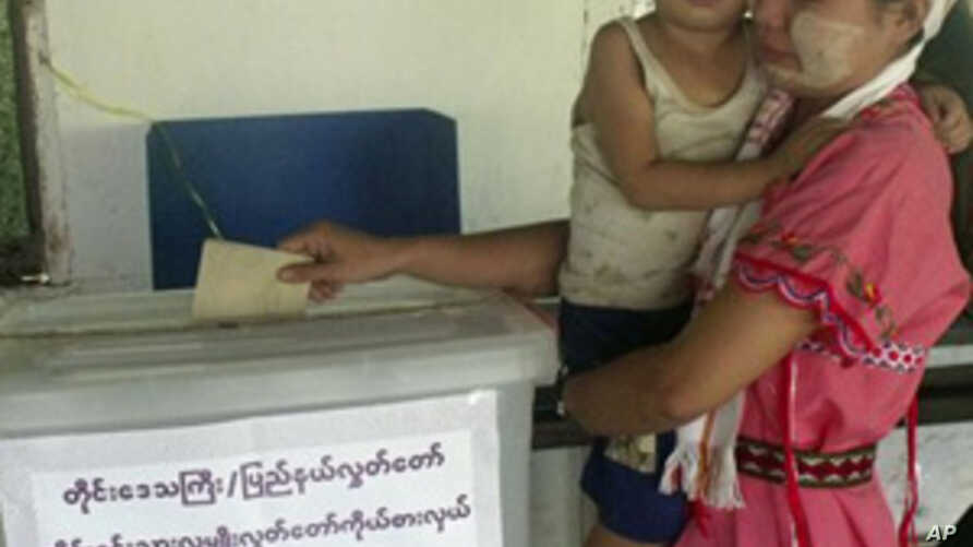 Burmese Wake Up to First Election in Two Decades