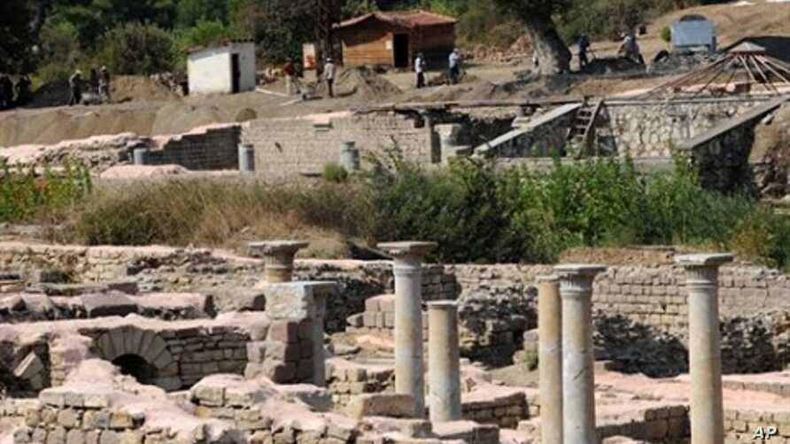 Allianoi, the world's oldest known spa settlement, in Perg