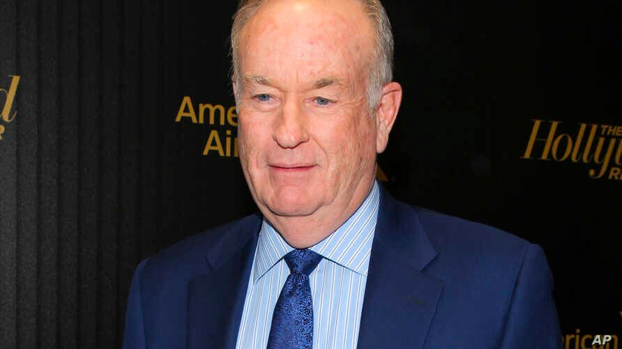 """FILE - In this April 6, 2016, photo, Bill O'Reilly attends The Hollywood Reporter's """"35 Most Powerful People in Media"""" celebration in New York."""