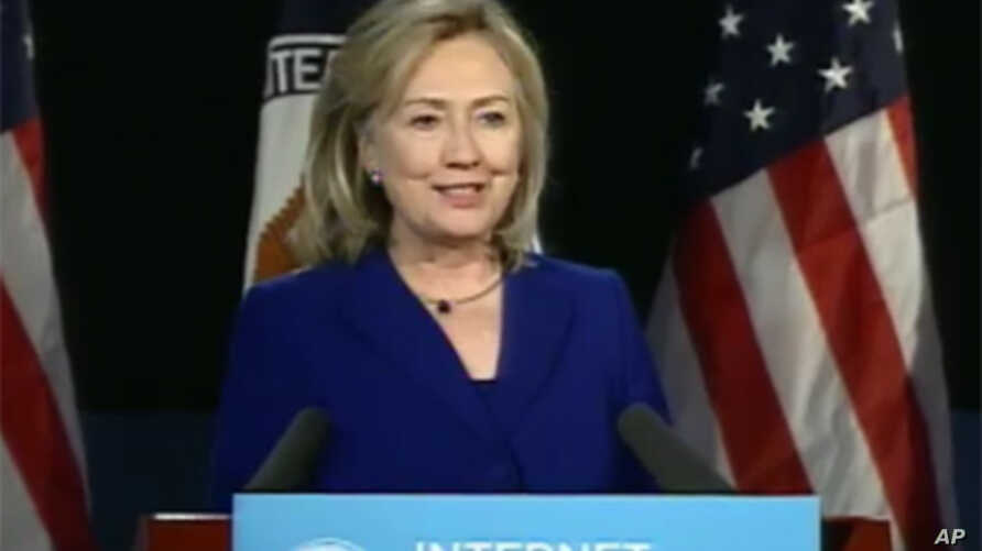 Hillary Clinton delivers speech on Internet Freedom, February 15, 2011