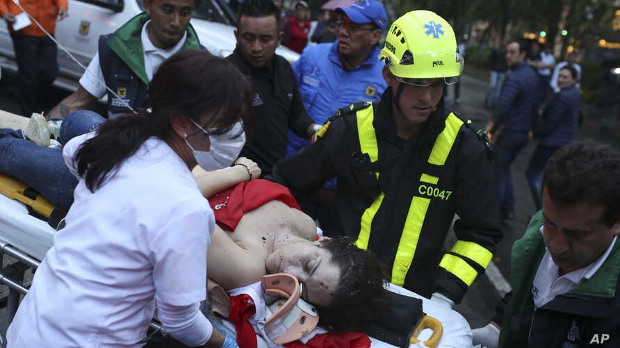 Colombia Explosion