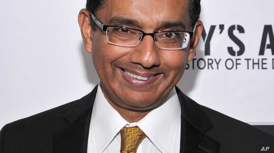 """Writer/Exec. Producer/Co-Director Dinesh D'Souza seen at D'Souza Media Premiere of """"Hillary's America"""" in Los Angeles, California, July 11, 2016."""