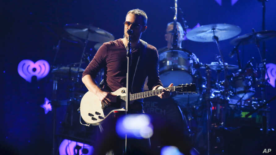 Eric Church performs at the iHeartRadio Country Festival in Austin, Texas, March 29, 2014.