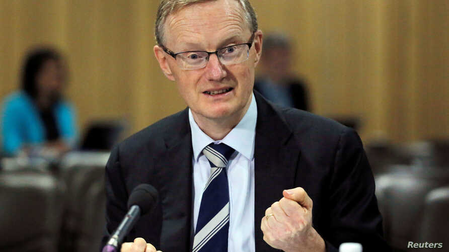 Australia's new Reserve Bank of Australia (RBA) Governor Philip Lowe speaks at a parliamentary economics committee meeting in Sydney, Sept. 22, 2016.