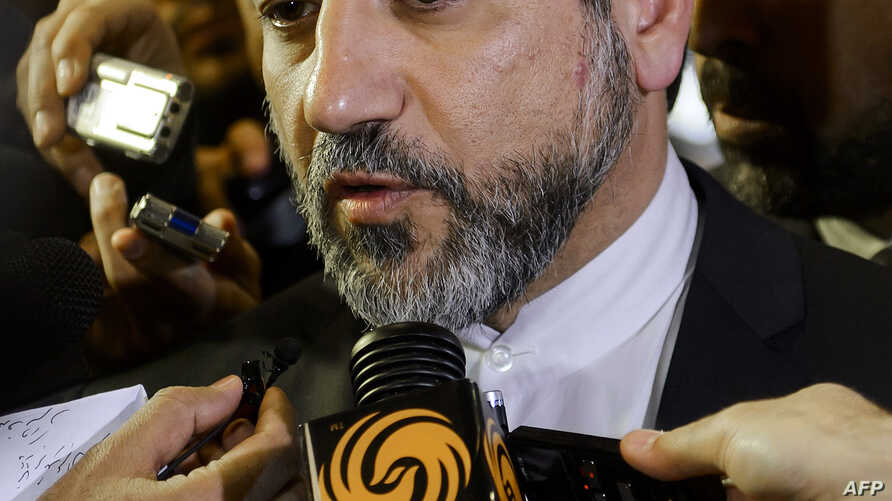 FILE - Iranian Deputy Foreign Minister Abbas Araghchi.