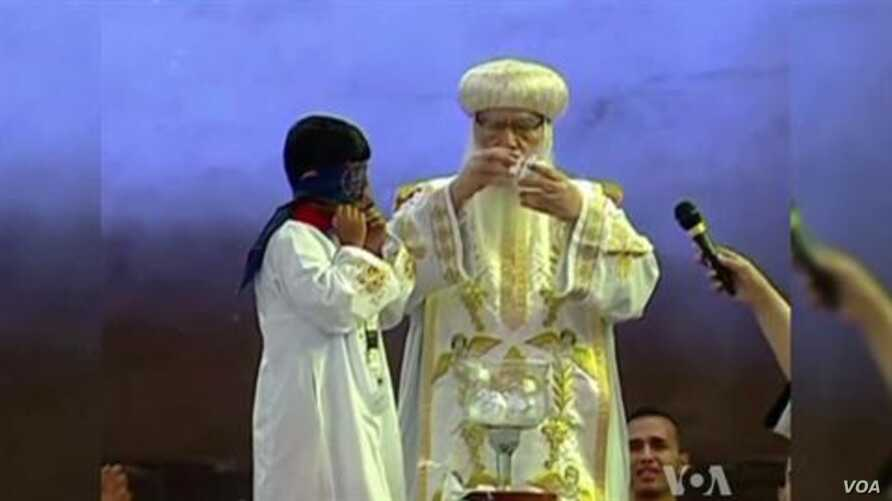 Tawadros Chosen New Pope of Egypt's Coptic Christians