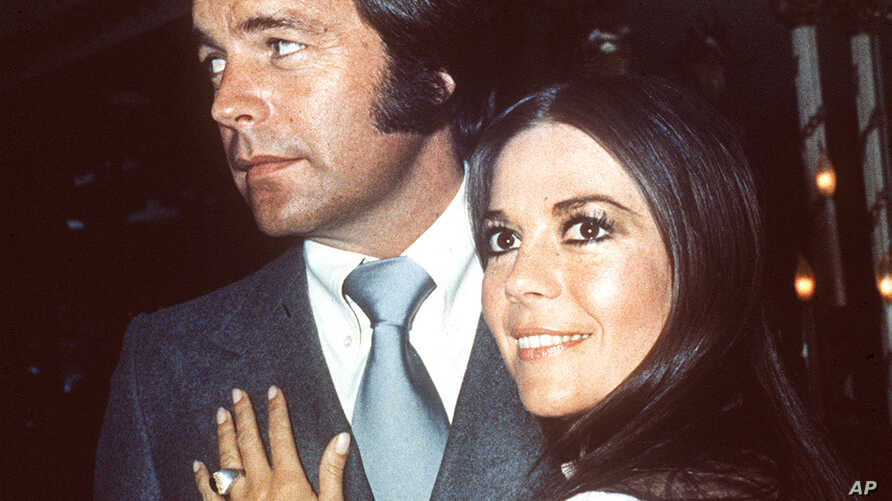 Natalie Wood and Robert Wagner in 1980.