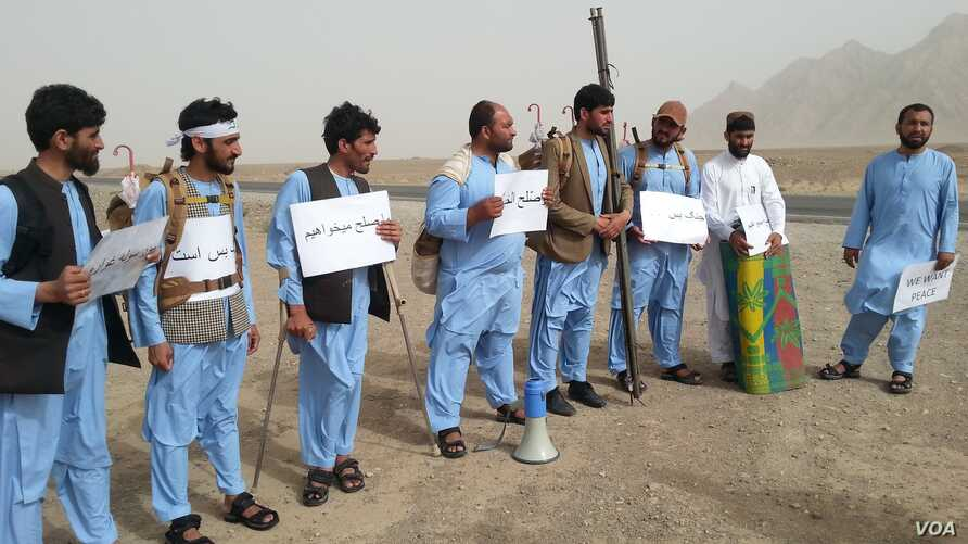 At the beginning of Ramadan, a group of eight young men set off in Helmand province for a 600-kilometer march to the capital, Kabul, to press for peace.