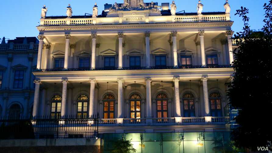 View of Palais Coburg where Iran Nuclear talks are being held in Vienna, Austria, July 6, 2015. (Photo: Brian Allen / VOA )